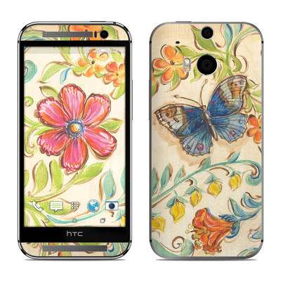HTC One M8 Skin - Garden Scroll