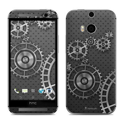 HTC One M8 Skin - Gear Wheel