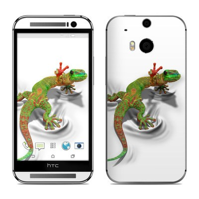HTC One M8 Skin - Gecko