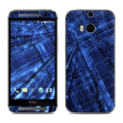 HTC One M8 Skin - Grid