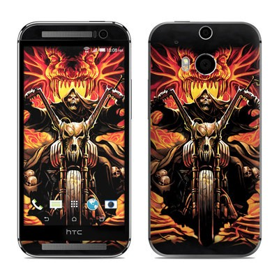 HTC One M8 Skin - Grim Rider