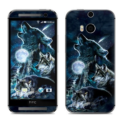 HTC One M8 Skin - Howling