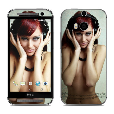 HTC One M8 Skin - Headphones