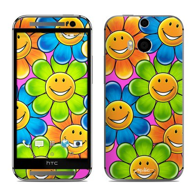 HTC One M8 Skin - Happy Daisies