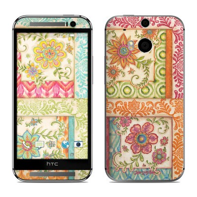 HTC One M8 Skin - Ikat Floral