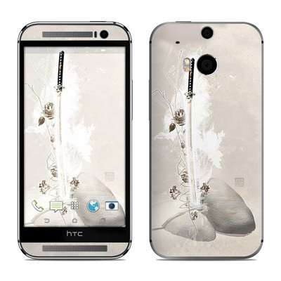 HTC One M8 Skin - Katana Gold