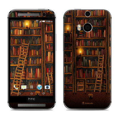 HTC One M8 Skin - Library