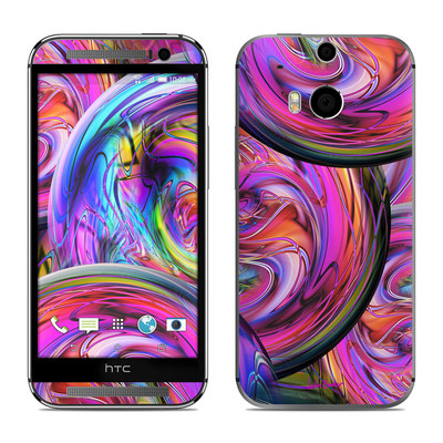 HTC One M8 Skin - Marbles