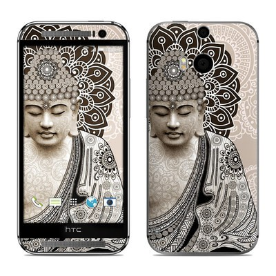 HTC One M8 Skin - Meditation Mehndi