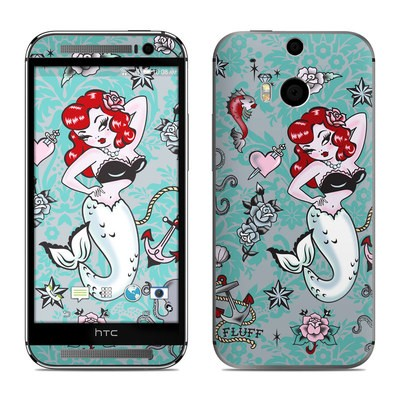 HTC One M8 Skin - Molly Mermaid