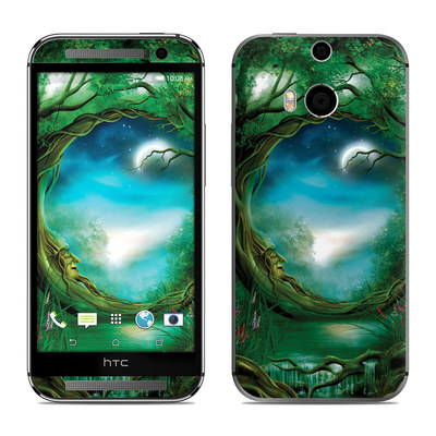 HTC One M8 Skin - Moon Tree