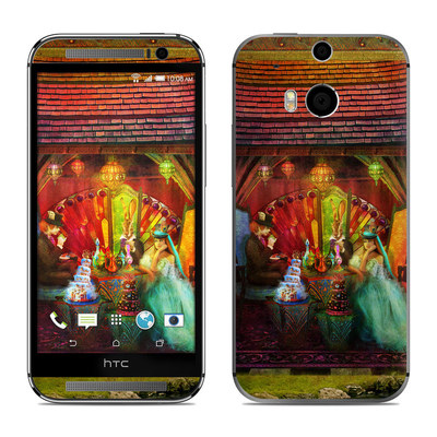 HTC One M8 Skin - A Mad Tea Party
