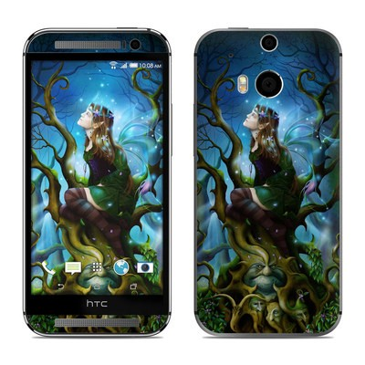HTC One M8 Skin - Nightshade Fairy