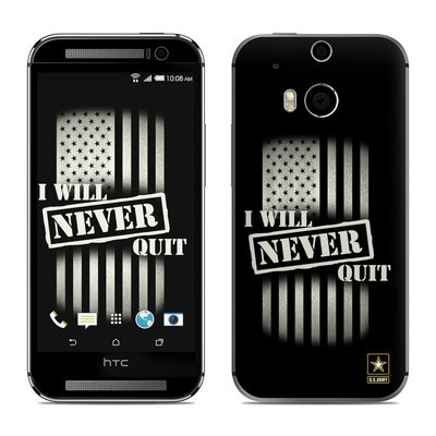 HTC One M8 Skin - Never Quit