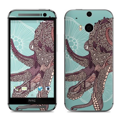 HTC One M8 Skin - Octopus Bloom