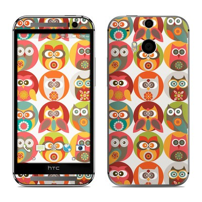 HTC One M8 Skin - Owls Family