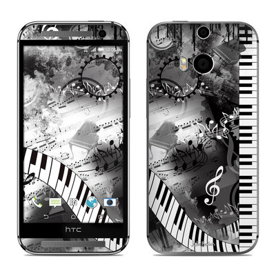 HTC One M8 Skin - Piano Pizazz