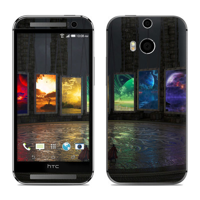 HTC One M8 Skin - Portals