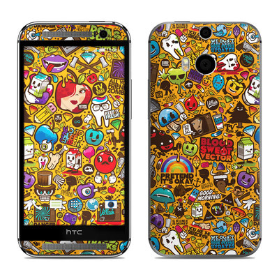 HTC One M8 Skin - Psychedelic
