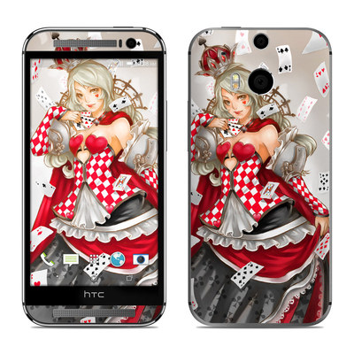 HTC One M8 Skin - Queen Of Cards