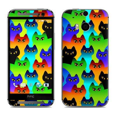 HTC One M8 Skin - Rainbow Cats