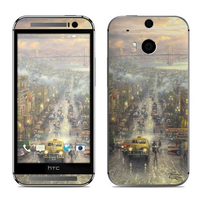 HTC One M8 Skin - Heart of San Francisco