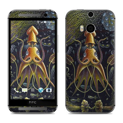 HTC One M8 Skin - Sea Flowers