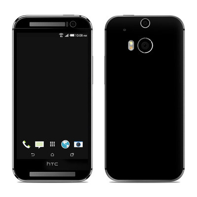 HTC One M8 Skin - Solid State Black