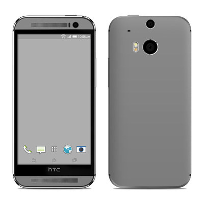 HTC One M8 Skin - Solid State Grey