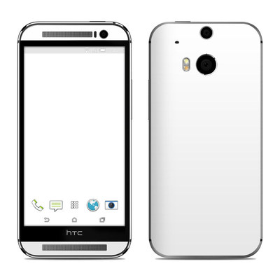 HTC One M8 Skin - Solid State White