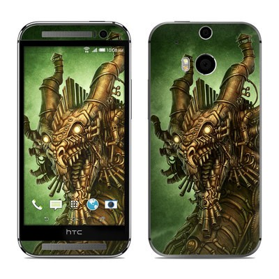 HTC One M8 Skin - Steampunk Dragon