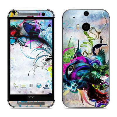 HTC One M8 Skin - Streaming Eye