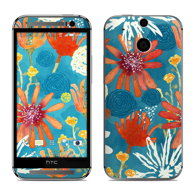 HTC One M8 Skin - Sunbaked Blooms