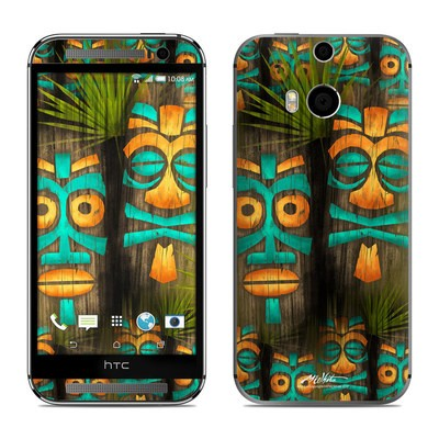 HTC One M8 Skin - Tiki Abu