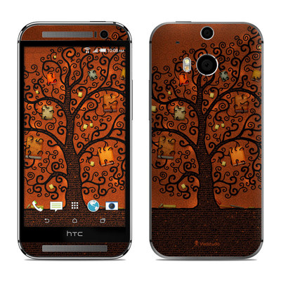 HTC One M8 Skin - Tree Of Books