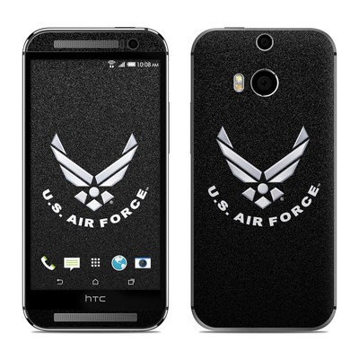 HTC One M8 Skin - USAF Black