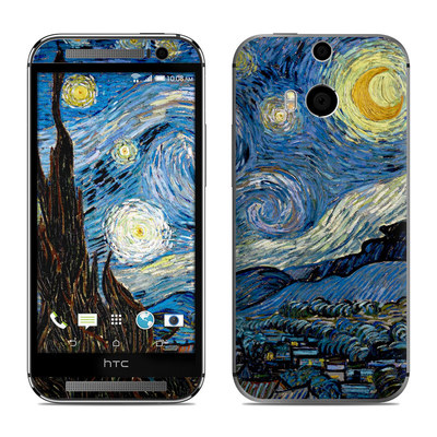 HTC One M8 Skin - Starry Night