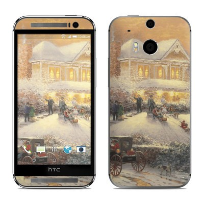 HTC One M8 Skin - Victorian Christmas