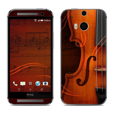 HTC One M8 Skin - Violin