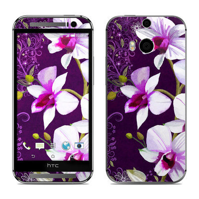 HTC One M8 Skin - Violet Worlds