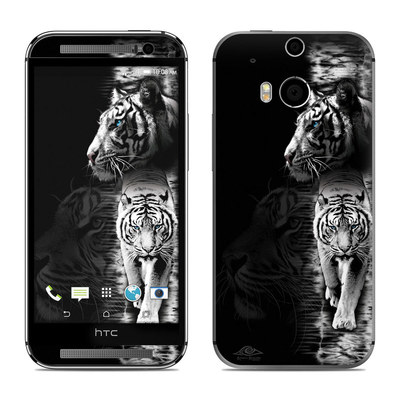 HTC One M8 Skin - White Tiger