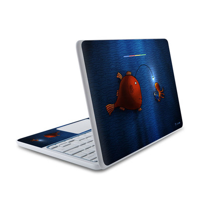 HP Chromebook 11 Skin - Angler Fish