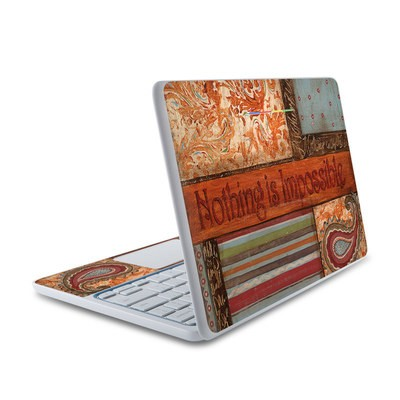 HP Chromebook 11 Skin - Be Inspired