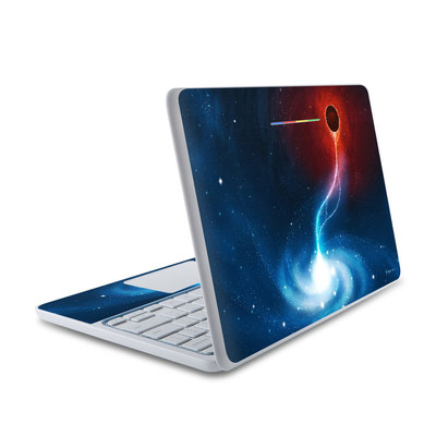 HP Chromebook 11 Skin - Black Hole