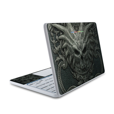 HP Chromebook 11 Skin - Black Book