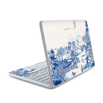 HP Chromebook 11 Skin - Blue Willow
