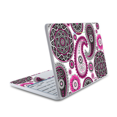 HP Chromebook 11 Skin - Boho Girl Paisley