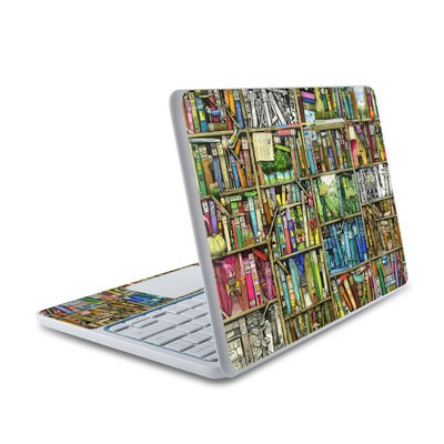 HP Chromebook 11 Skin - Bookshelf