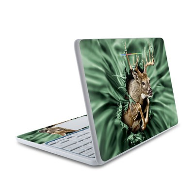 HP Chromebook 11 Skin - Break Through Deer