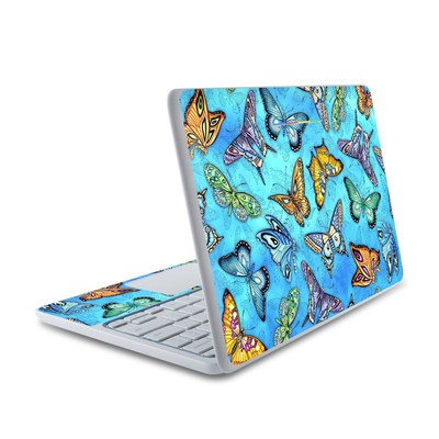HP Chromebook 11 Skin - Butterflies